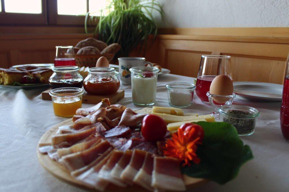 Vacanze in agriturismo con colazione