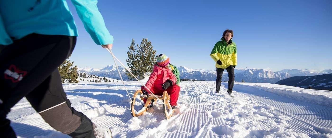 Ihr Winterurlaub auf dem Bauernhof in Südtirol – Winterzauber in Latzfons